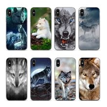Aiboduo wolf For iphone 6s plus Soft silicone cover Case for iPhone 5s 5 8 7 6 6S Plus X XS XR XSmax 7plus 8plus
