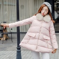 Good Quality Maternity Coat Winter Warm Jacket Hooded Outerwear Loose Pregnant Women Jacket Female Coats