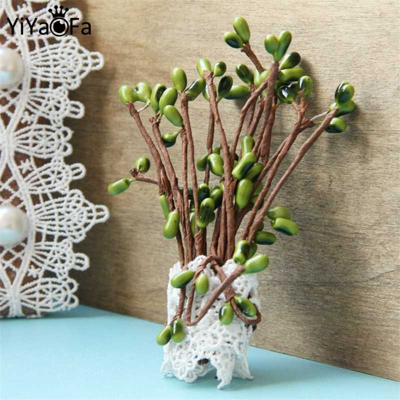 YiYaoFa Handmade Cute Bean Sprout Brooch Antique Corsage Pin Antique Buckle Retro Women Accessories Party Jewelry YBR-39