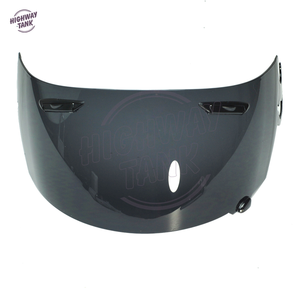 1 PCS Dark Smoke Motorcycle Full Face Helmet Visor Lens Case for ARAI RR4 Visor Mask