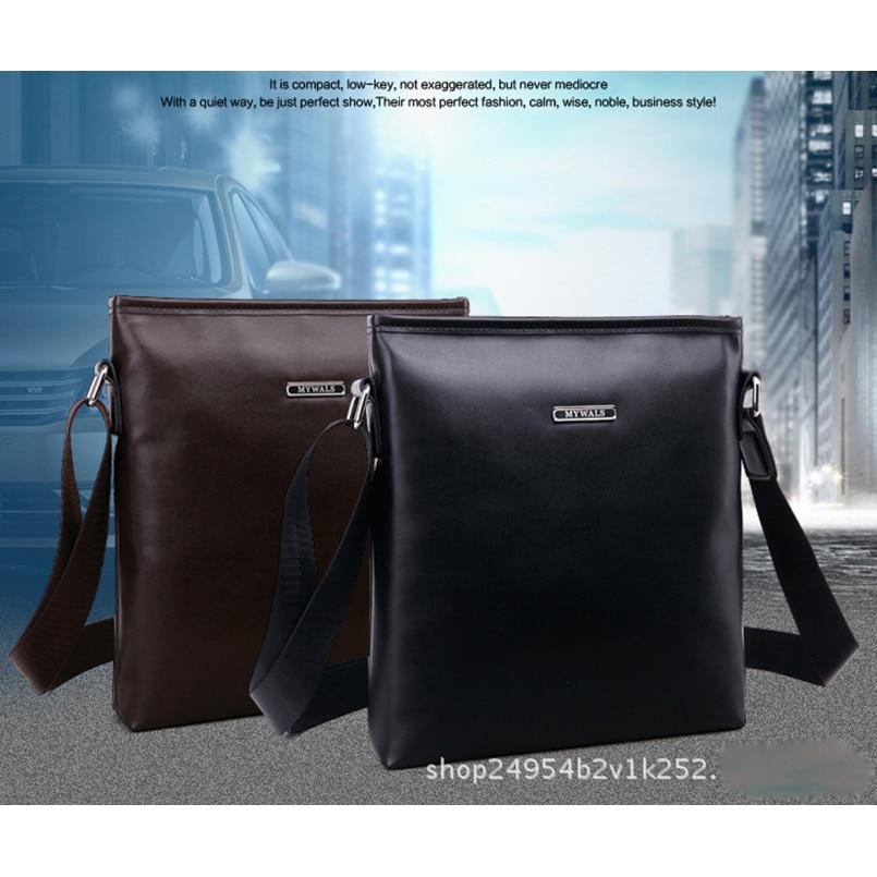 6dfad12a0982 IVOTKOVA New Vintage Bags For Men Brand PU Leather Messenger Bag Casual  Men s Bag Shoulder Bags iPad Holder Gift on Aliexpress.com
