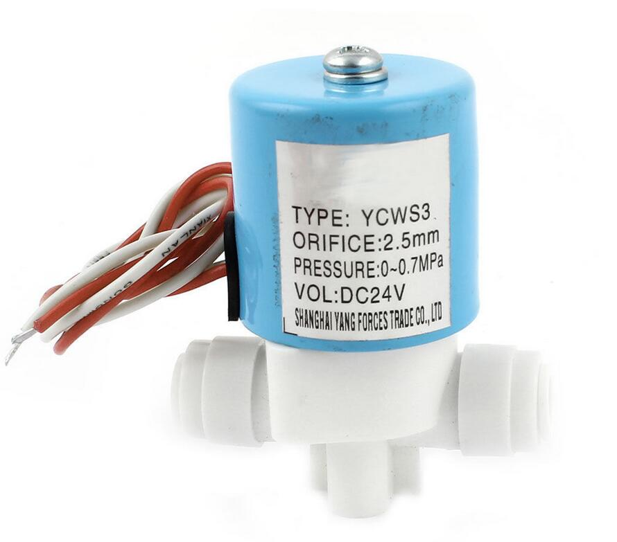 DC 24V/DC12V/AC220V 6.35mm Tube Water Air Inlet Flow Switch Electric Solenoid Valve мультиметр uyigao ac dc ua18