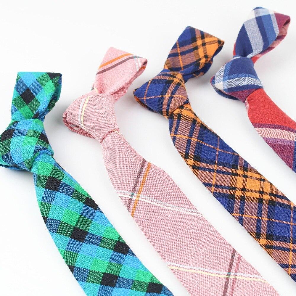 100%Cotton Striped Tie Men Business Wedding Necktie Male Slim Skinny Narrow Tie Necktie Small Tie Designer Cravat