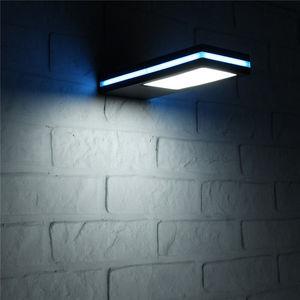 Image 2 - 144 LED Solar Power Motion Sensor Garten Sicherheit Lampe Im Freien Wasserdichte Licht Portikus Lampe Gartenbeleuchtung