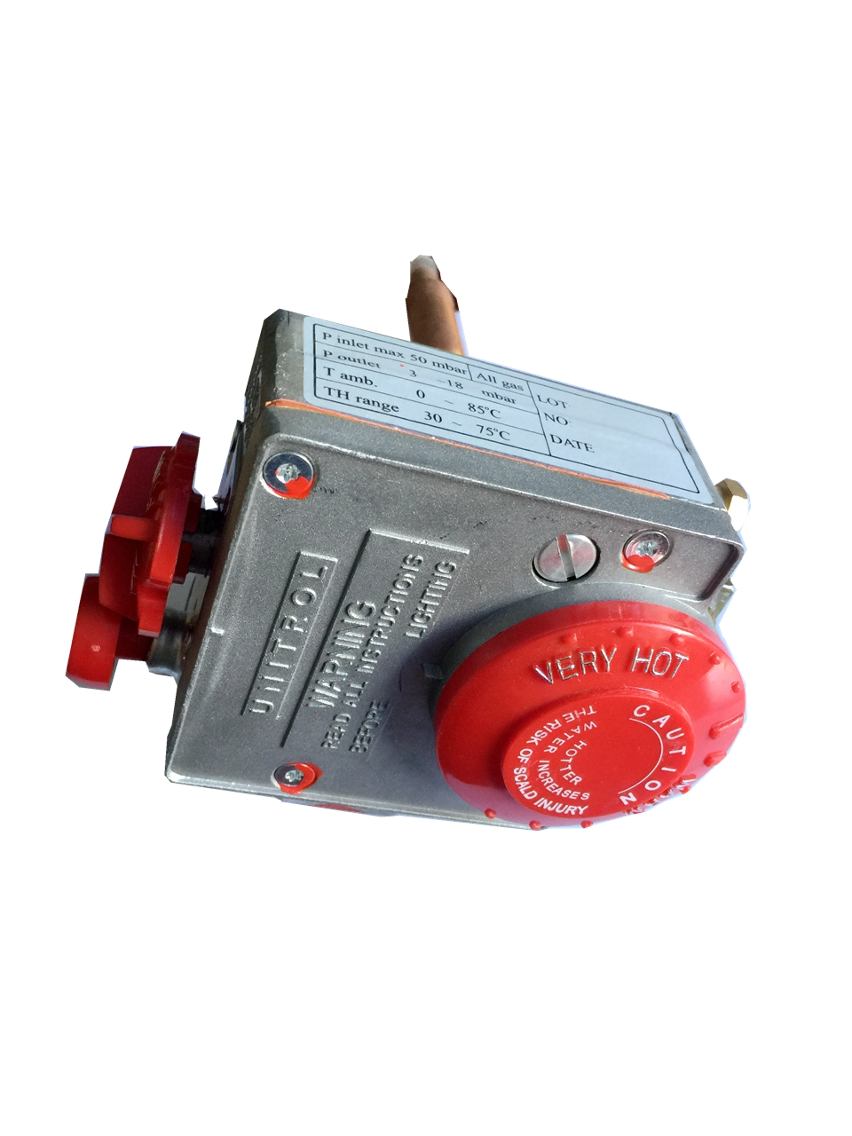 Storage Water Heater Thermostat Valve Ambient Temperature Range 0-85 Degree promotion price