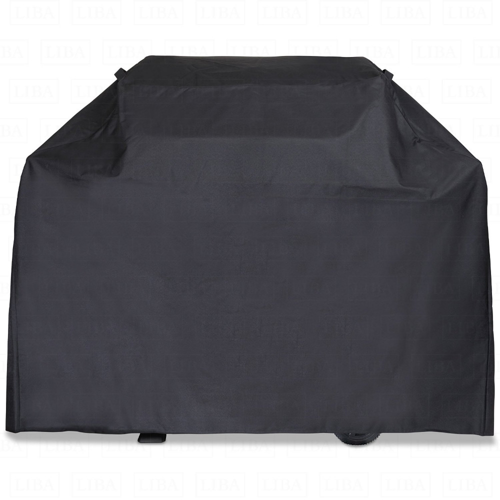Thick Heavy Duty Premium BBQ Grill Cover,GaiaBBQ A117,1 pcs,58 Inch Gas Grill Cover-Barbeque Grill Covers,