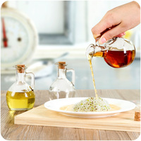ELETON Glass Kitchen Storage Bottles Of Olive Oil ASmall Oil Pot Glass Kitchen Soy Sauce Small