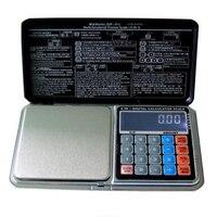 Pratique LCD Affichage Électronique Numérique de Bijoux de Poche Balance Calculatrice Fonction Portable Poids Échelles