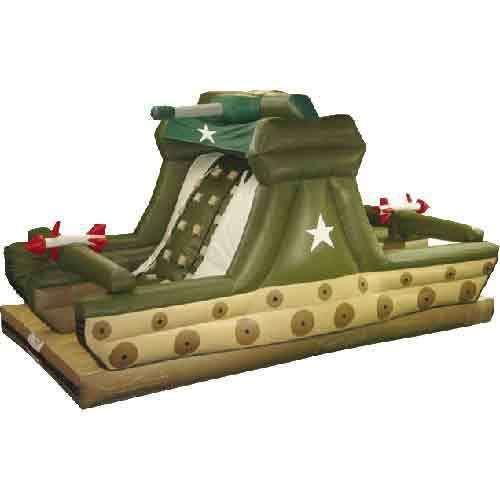 Яркий надувные слайд