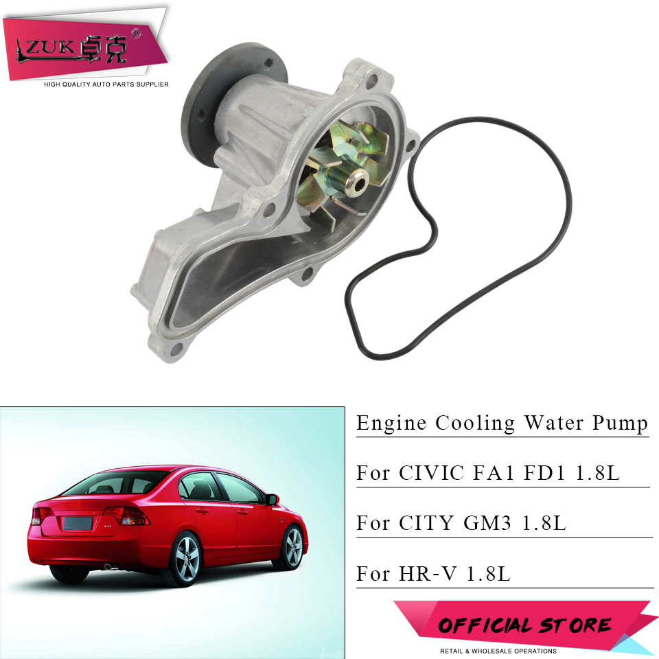 New Water Pump for Honda Civic Acura CSX 2006-2011