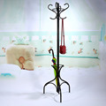 Hot Sell 8 Hooks Tree Style Hat Coat Clothes Rack Hanger Metal Umbrella Stand Base 2 Colors