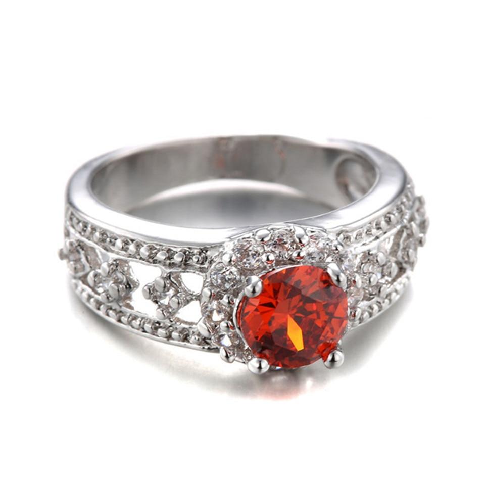 Anillos Mujer Wedding Rings Engagement Anel Feminino Ladies Finger ...
