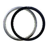 6061 Black / Silver Motorcycle Rim Aviation Aluminum Front Wheel Circle 2.15x19 32 36 Spoke Hole 215 x 19 2.15 19 High Strength