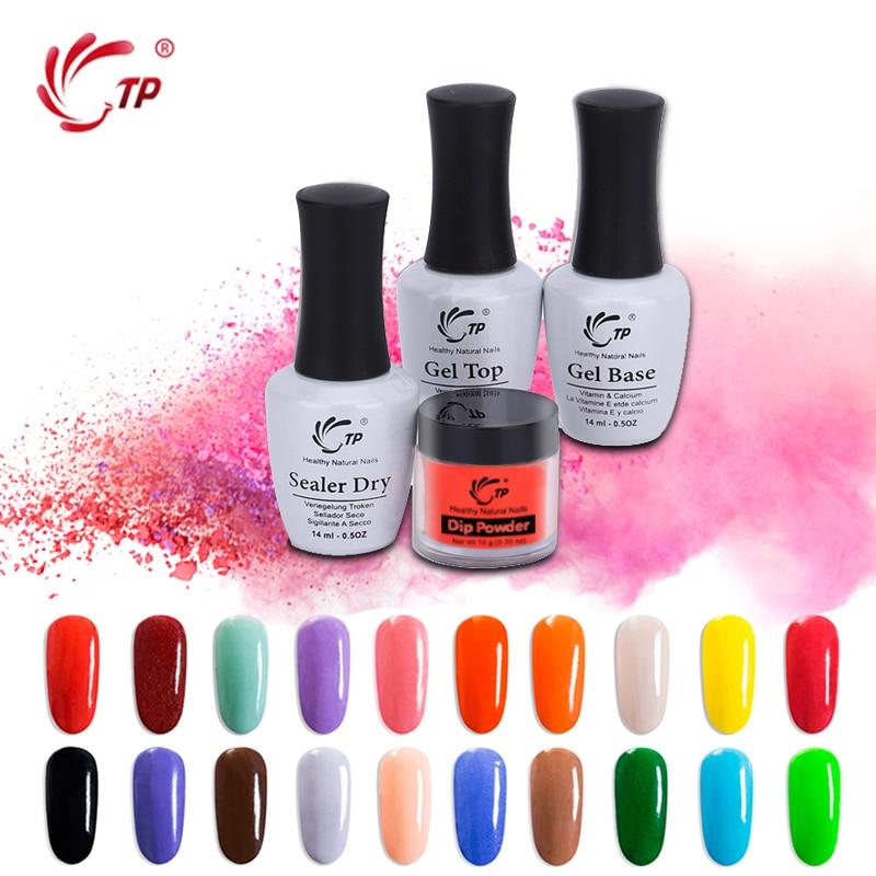 TP Winter Colors Dipping Powder Sets Without UV/LED Lamp Cure Nails Dip Powder Gel Nail Color Powder Natural Dry Salon diy Salon
