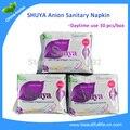 5bags Daytime menstruation pad Anion Sanitary Towel/ Sanitary Napkin shuya Active Oxygen & Negative ion Pad