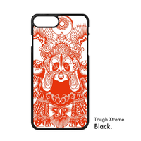 Chinese Art Red White Makeup Paper Cut Art China New Year Beijing Opera Phone Case For