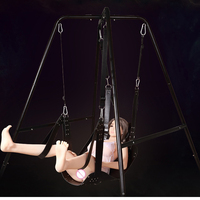 SM Game Product Leather Sling Sex Hammock Sex Swing Leather Bed Hammock Can Bear 250KG Special Toys for Couple Bondage