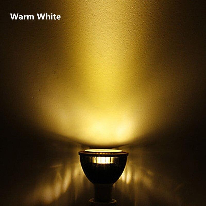10 pièces usine vente LED PAR20 ampoules E27 15 W 5*3 W blanc chaud blanc froid blanc 110 V 220 V Dimmable LED PAR 20 P20 projecteurs lampes - 5