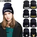 New 2017 Fashion Winter Hat For Women Skullies Beanies Hats Men Knitted Hats Caps Women Casual Cap Spring Warm Women's Beanies