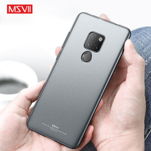 MSVII Matte Case for Huawei Mate 20 Ultra-thin Hard Back Cover Pro Funda 20X Coque Cases