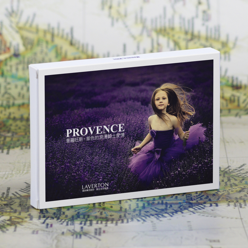 30 Sheets/Set Take A Trip To Provence Postcard Greeting Card Birthday Letter Gift Card Message Card