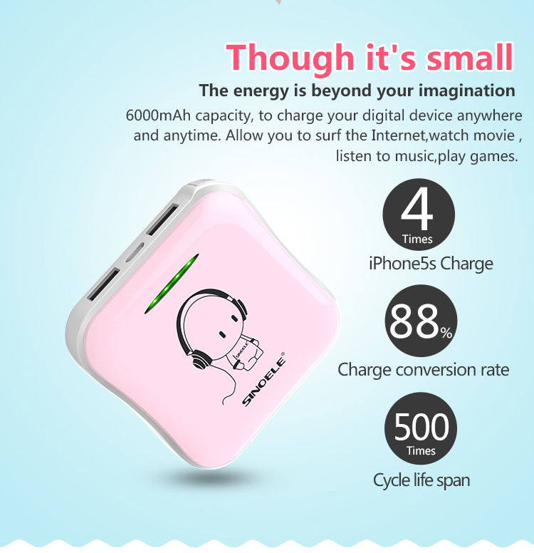 Cute Mini Power Bank