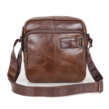 Men's Handbags Genuine Leather Casual Messager Bags Men Business Crossbody Male Bag Single Straps Shoulder Travel Bags