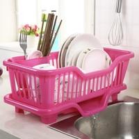 1PC Home Washing Vegetable Holder Basket PP Great Kitchen Sink Dish Drainer Drying Rack OrganizerTray OK 0083 1|sink dish drainer|dish drainersink dish -