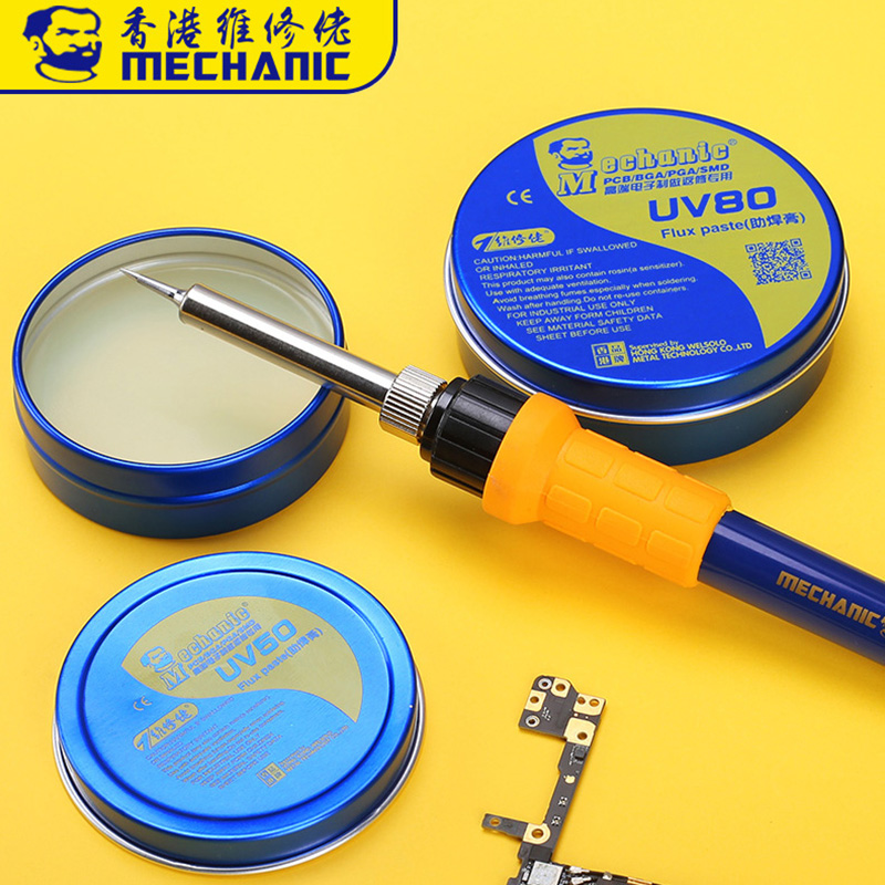 MECHANIC Flux Solder Paste No-Clean Rosin Soldering Paste Flux Grease Electric Soldering Iron Welding Fluxes For PCB/BGA/PGA/SMD