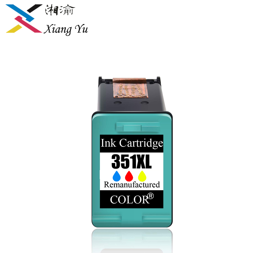 Hot 351XL Black ink cartridge Replacement for <font><b>HP</b></font> <font><b>351</b></font> use for D4200 D4260 D4263 D4360 J5730 5780 5785 C4380 4580 4270 Chip Update image