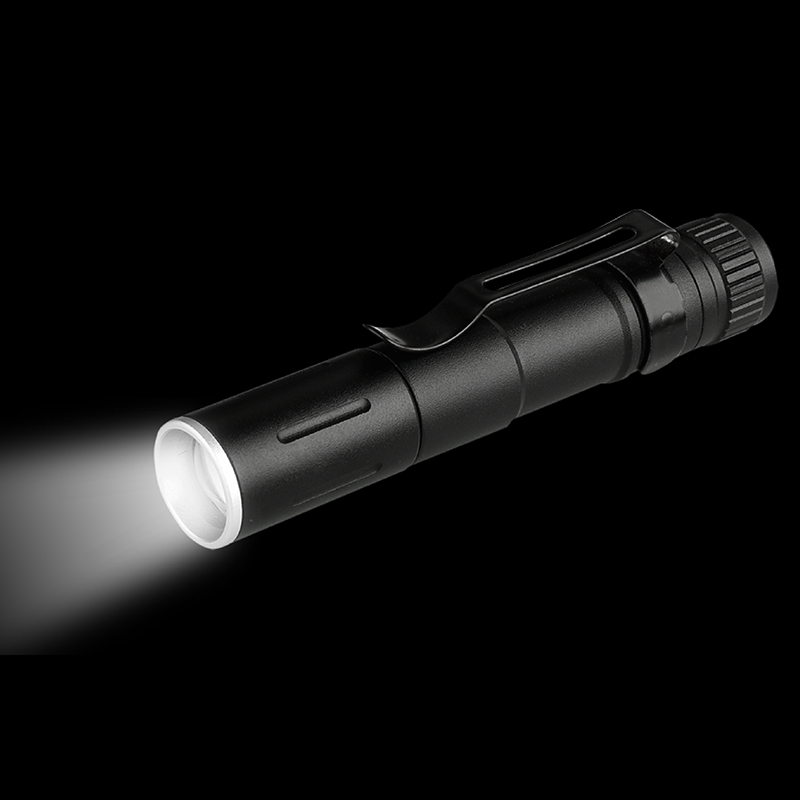 Image 5 - Litwod Z20 7W XP G Q5 2000LM mini LED Flashlight Torch ZOOM Waterproof LED Zoomable Lanterna AAA Battery Led For camping-in LED Flashlights from Lights & Lighting