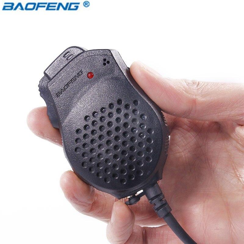 Baofeng Président Mic Microphone Double PTT Pour pofung talkie walkie UV-82 UV82 UV-82L UV-8D UV-89 UV-82HP Portable CB Radio