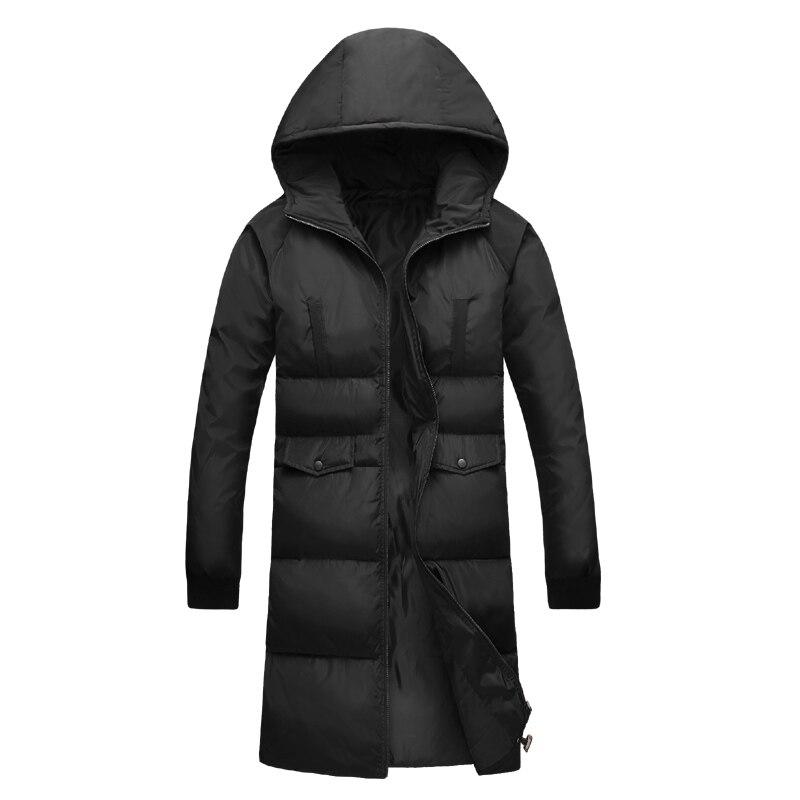 2017 Parkas Men Winter Jacket Men Warm Coat Fashion Printing Hooded Long Winter Jacket For Men High Quality Plus Size S-5XL winter coat men s youth thickening long men s cotton cotton sweater men s tide winter coat jacket