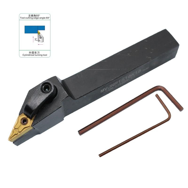 MVJNL1616K16 Left External Indexable Turning Tool Holder 93 Degree for CNC Lathe