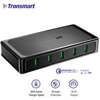 Tronsmart U5TF Desktop Charger Quick Charge 3 0 USB Charger With Quick Charge 3 0 VoltiQ