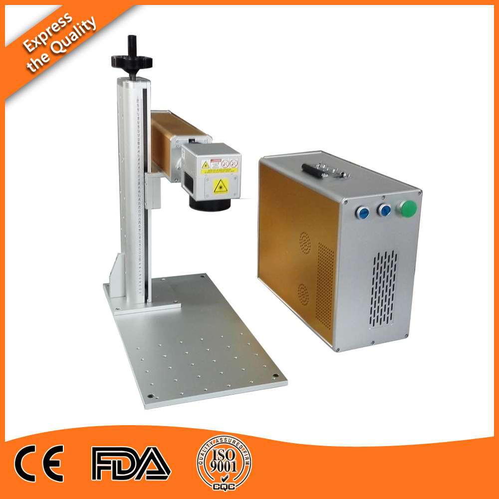20W Medical Fiber Laser Marking rtv silicone rubber