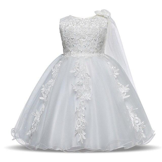 Kleinkind Kinder Party Kleid Für Mädchen Taufe Infant Kinder Taufe ...