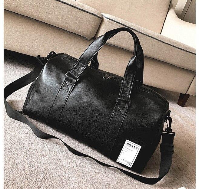 ✔  Oriental Element Многофункциональный PU дорожная сумка Duffle Bag с большой вместимостью обувь отсек ①