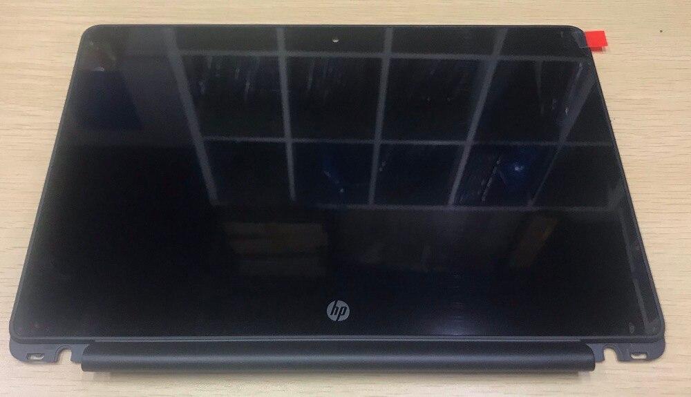 "1366 x 768 For HP Chromebook 11-v025wm 11.6/"" LCD LED Touch Screen Assembly+Bezel"