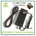 29.4V3A charger  29.4v 3A  electric bike lithium battery  charger for 24V lithium battery pack  RCA Plug  29.4V3A charger