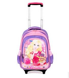 Aliexpress.com : Buy fashion Barbie cartoon trolley bags with ...