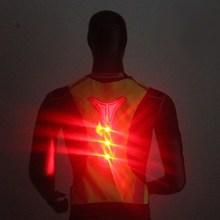 Новый LED светоотражающие Предметы безопасности жилет для ночного Бег Велоспорт дышащий высокая видимость