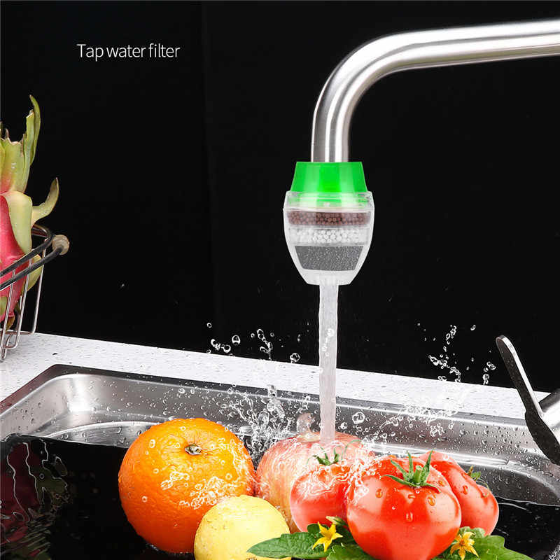 Household Tap Water Purifier Carbon Faucet Water Filter Remove Rust Suspended Kitchen Water Cleaner Water Filtration System 31