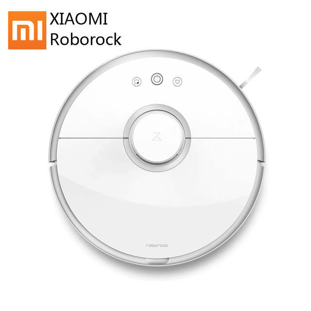 US $499 28 25% OFF|Best Price Original Xiaomi Mi Roborock s50/s51 Robot  Vacuum Cleaner 2 Mopping and Sweeping WIFI APP Control with Water Tank-in
