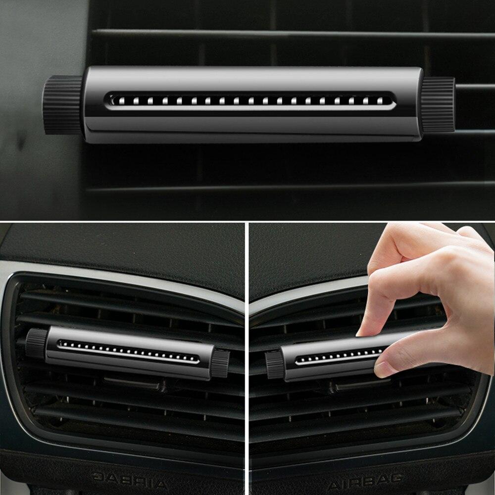 Mini Air Purifier Air Freshener Auto Car Fresh Air Ionic Purifier Oxygen Bar Ozone Ionizer Cleaner Car Styling Accessory New