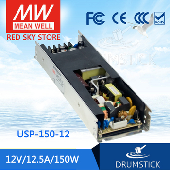 prosperity MEAN WELL USP-150-12 12V 12.5A meanwell USP-150 12V 150W U-Bracket  with PFC Function Power Supply