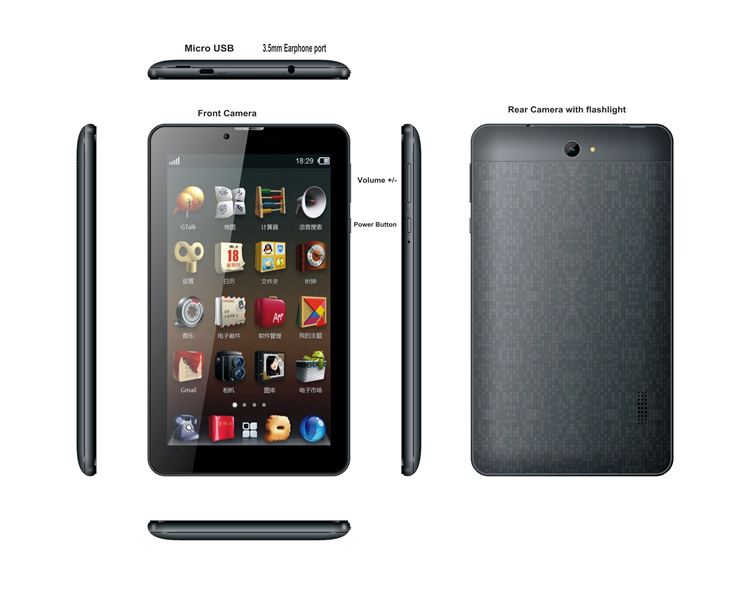 7 inch 3G tablet