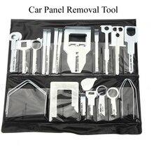 Набор инструментов для снятия ключей для автомобиля, CD радио, головное устройство, инструмент для удаления панели автомобиля, 36 шт