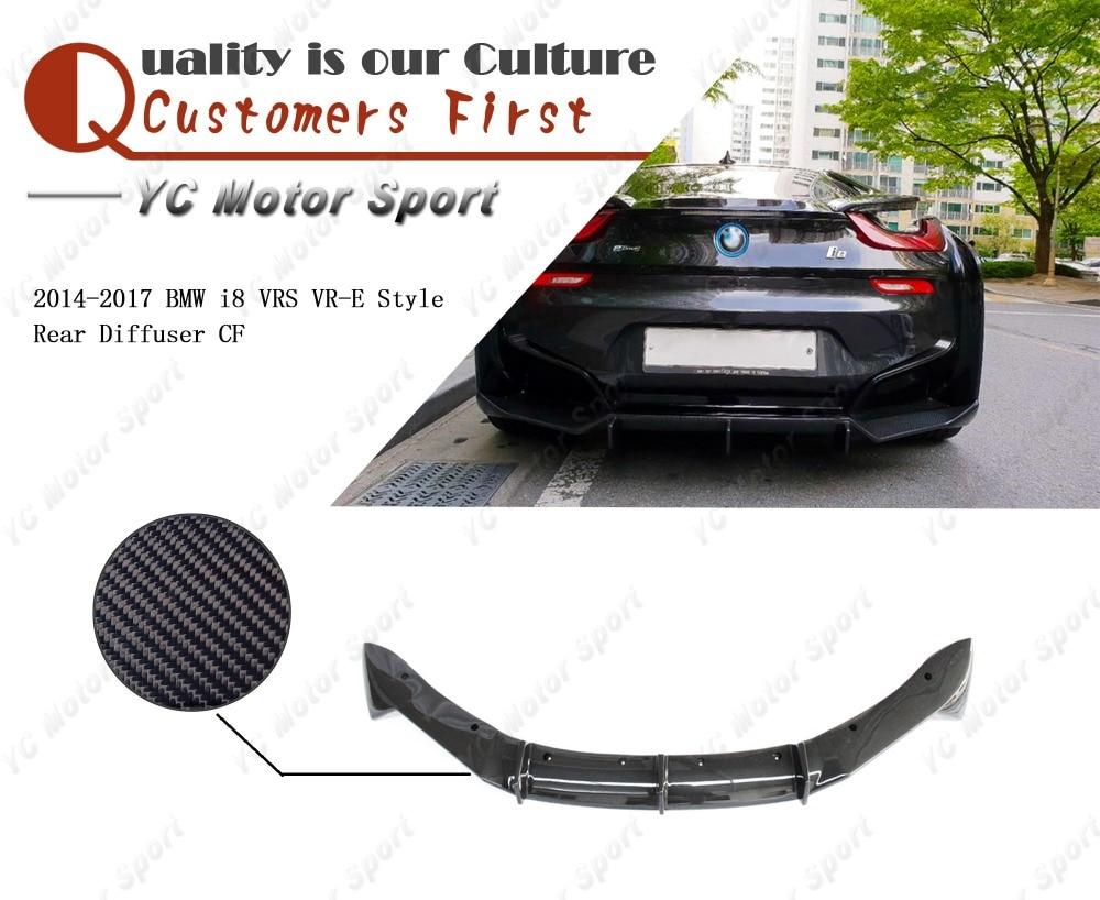 Hot Sale Car Accessories Carbon Fiber Vrs Vr E Style Rear Diffuser