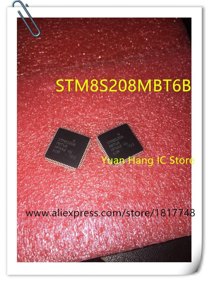 20PCS LOT STM8S208MBT6B STM8S208MBT6 STM8S208 QFP80